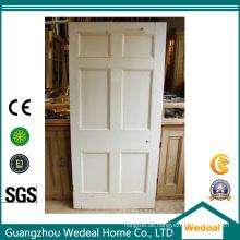 Customize MDF angehoben / Flat sechs Panel Tür für Projekt