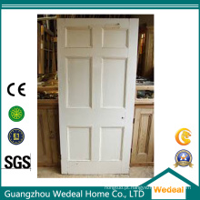 Personalize a porta levantada MDF / lisa de seis painéis para o projeto