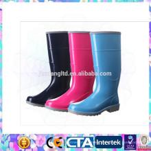 CE standard rain boots plastic women rain shoes
