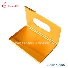 Customized Gold Credit Card Holder for Promotion