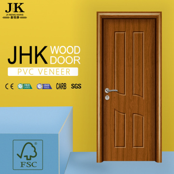 JHK-PVC Wooden Door PVC Interior Sliding Barn Doors PVC Plastic Interior Door