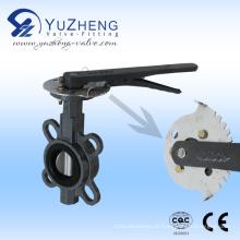 Válvula Borboleta Wafer Industrial Tipo Grib