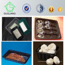 Recipientes de alimento plásticos descartáveis de empacotamento dos PP da salada do vegetal de fruto da carne