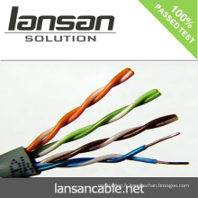 Test de probabilité cat5e lan cable UTP 4P * 23AWG 0.58mm BC Pass Titan Test