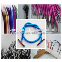 best quality in Russian Federal of round elastic rope with metal tips