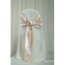 Cubiertas para sillas 100% poliéster, fundas para banquetes / hoteles / sillas para bodas