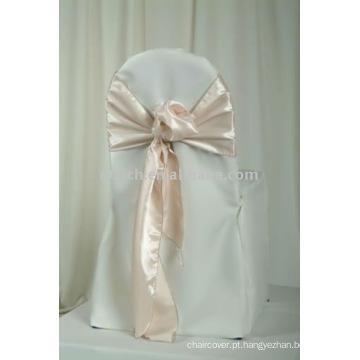 100% poliéster cadeira cobre, banquete / hotel / casamento cadeira cobre