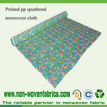 PP Spunbond Fabric Non Woven Beautuful Printed Pattern