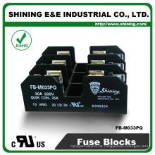 FB-M033PQ UL genehmigt gleich Bussmann 30A 3 Pole Porzellan Sicherung Basis