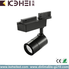 Matt Black 15W LED Track Lights Dimmable COB