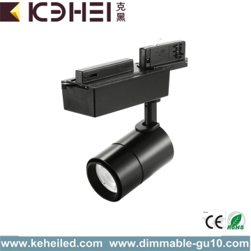 Matt Black 15W LED Track Lights Dimbare COB