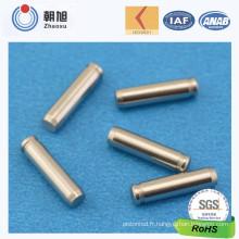 Broche de précision en acier inoxydable CNC