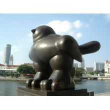 Large Size Fat Bird Statue For Sale