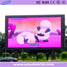 Погружение P10 Открытый полный Цвет светодиодные фиксированная панель дисплея для рекламировать