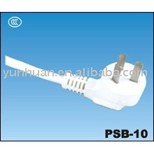 Ac power cord white cable