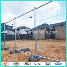 Австралия временный зеленый металлический забор панели с разъемами