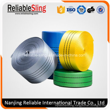25mm-300mm Polyester Flat Belt for Lifting Sling