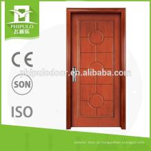 selo de porta resistente ao fogo usado para porta de madeira à prova de fogo para decoração de interiores