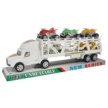 Color sólido Inertial Tow Car cabeza de Inercia de camiones de juguete