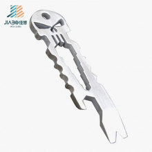 Promotional Gift Wholesale Zinc Alloy Custom Skull Bottle Opener in Metal