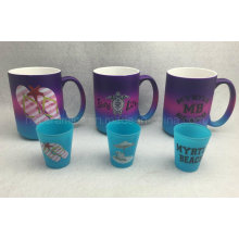 Color Spray Mug, Neon Color Mug, Promotional Mug