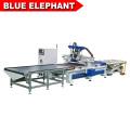 Máquina de fabricación de gabinetes de muebles completamente automática automática enrutador cnc de carga y descarga automática para la venta caliente