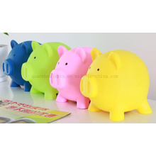 OEM Colorful Plastic Craft Saving Money Box Piggy Bank Toy