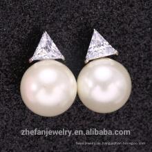 Großhandelshandgemachtes 925 Silber-Sterling baumeln Ohrring mit preiswertem Preis u. Hoher Qualität