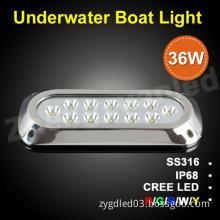 Aquarium led light12v/ led pool light bulb/ IP68 led underwater boat lighting 36 w