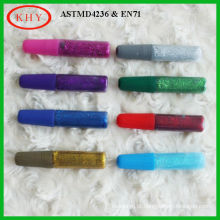 DIY colorful various package glitter glue