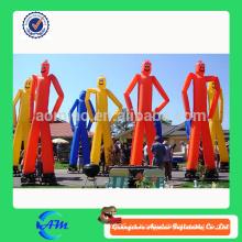 Ustom Publicidad inflable Air Dancer / Two Legs bailarín de aire hombre