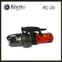 Cortador manual de la barra del hierro de 20m m RC-20 / cortadora de la barra de refuerzo para la construcción