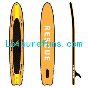 high pressure inflatable surf rescue board