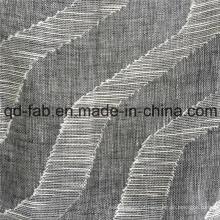 70 * 58 Algodão Jacquard de linho tecido tecido (QF16-2516)