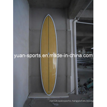 High Quality Bamboo Veneer Stand up Paddle Surfboard