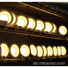 dimmbare led-Downlights schwarz