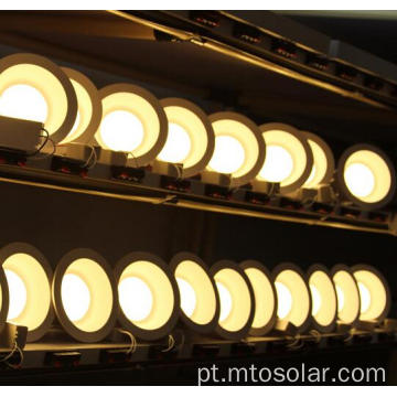 dimmable led downlights preto