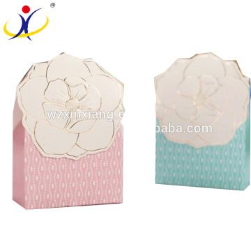 Caixa de embalagem em forma de doces bonito para o Natal, embalagens de doces