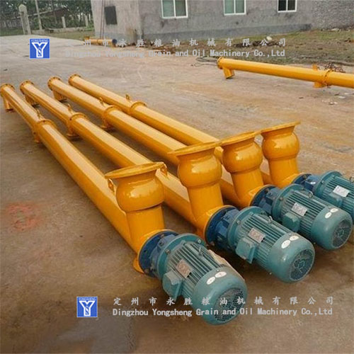 Screw Conveyor oil material