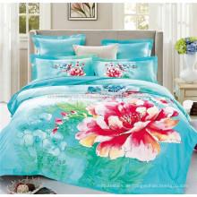 Best Selling Produkte 3D Baumwolle Stoff Textilien Duvet Abdeckung Bettwäsche Set