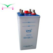 Batería de níquel cadmio 200ah para subestación eléctrica.
