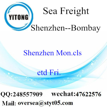 Shenzhen Port LCL Consolidation naar Bombay