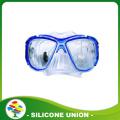 Équipement de natation Blue Silicone Diving Glasses