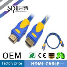 SIPU кабель HDMI 24K позолоченные высокая скорость полное 3D 1440P, 1M 2M 3M 5M 10 М 20 М 30 М 40 М 50 М