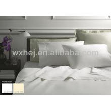 T-300 WHOLESALE WHITE COTTON SATEEN BEDDING SETS