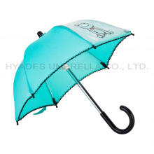 Cute Decorative Toy Umbrella With Picot Lace