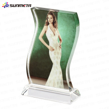 FREESUB Impression sublimation Cadre photo en cristal vierge