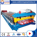 Colored Metal Trapezoidal Roof Panel Roll Forming Machine