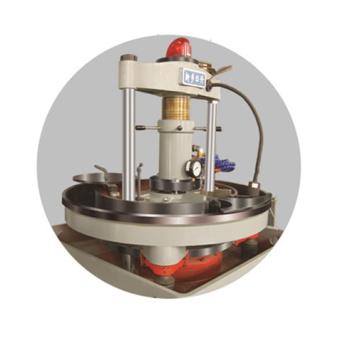 Vertical steel ball flashing machine for sale