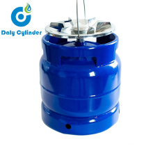 Blue Small Steel Cylinder Disposable Helium Gas Cylinder